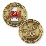 1st Recruit Training Battalion Coin