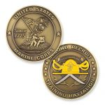 2nd Recruit Training Battalion Coin