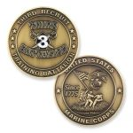 3rd Recruit Training Battalion Coin