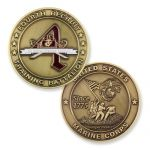 4th Recruit Training Battalion Coin